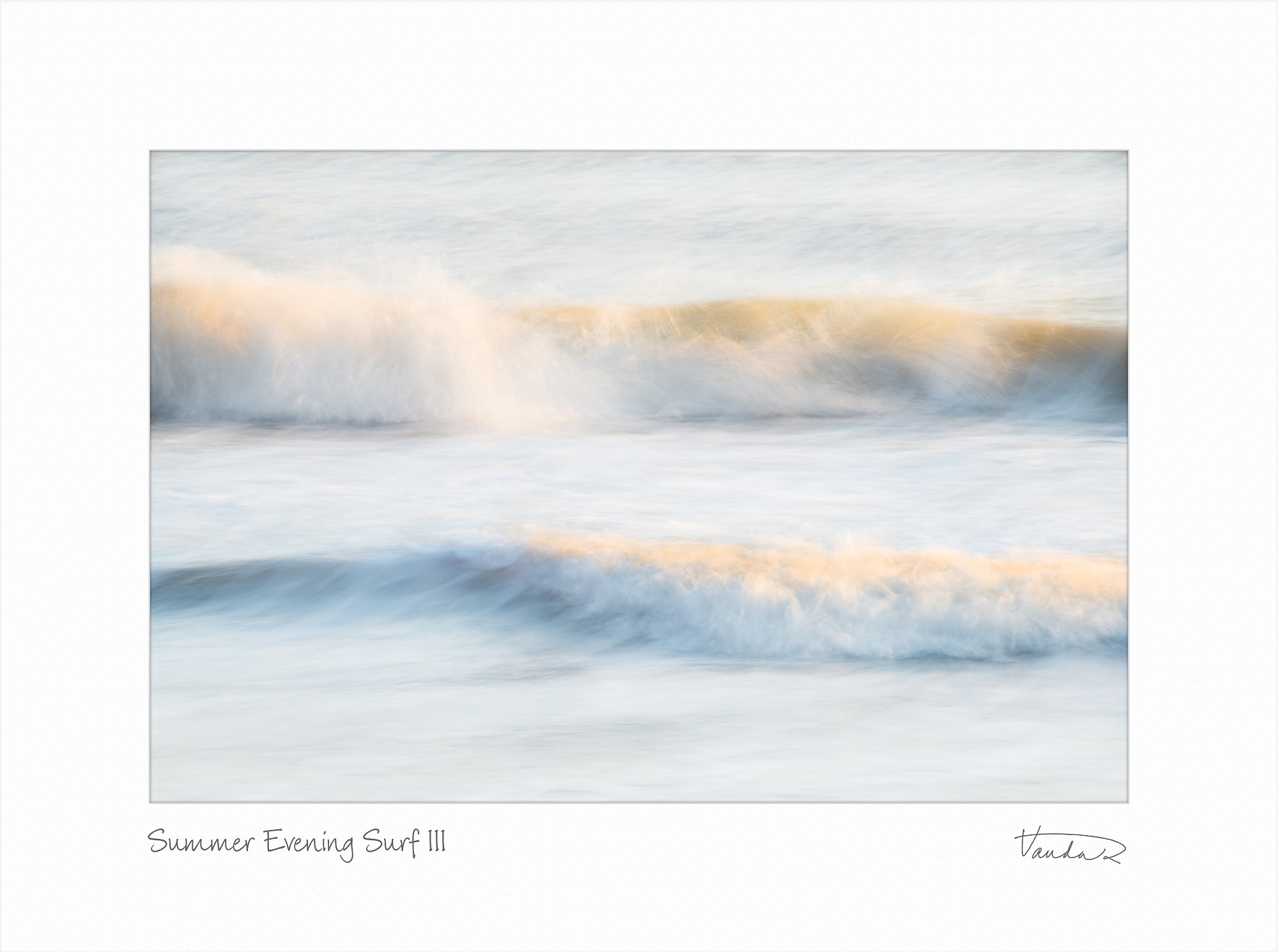 Summer Evening Surf III