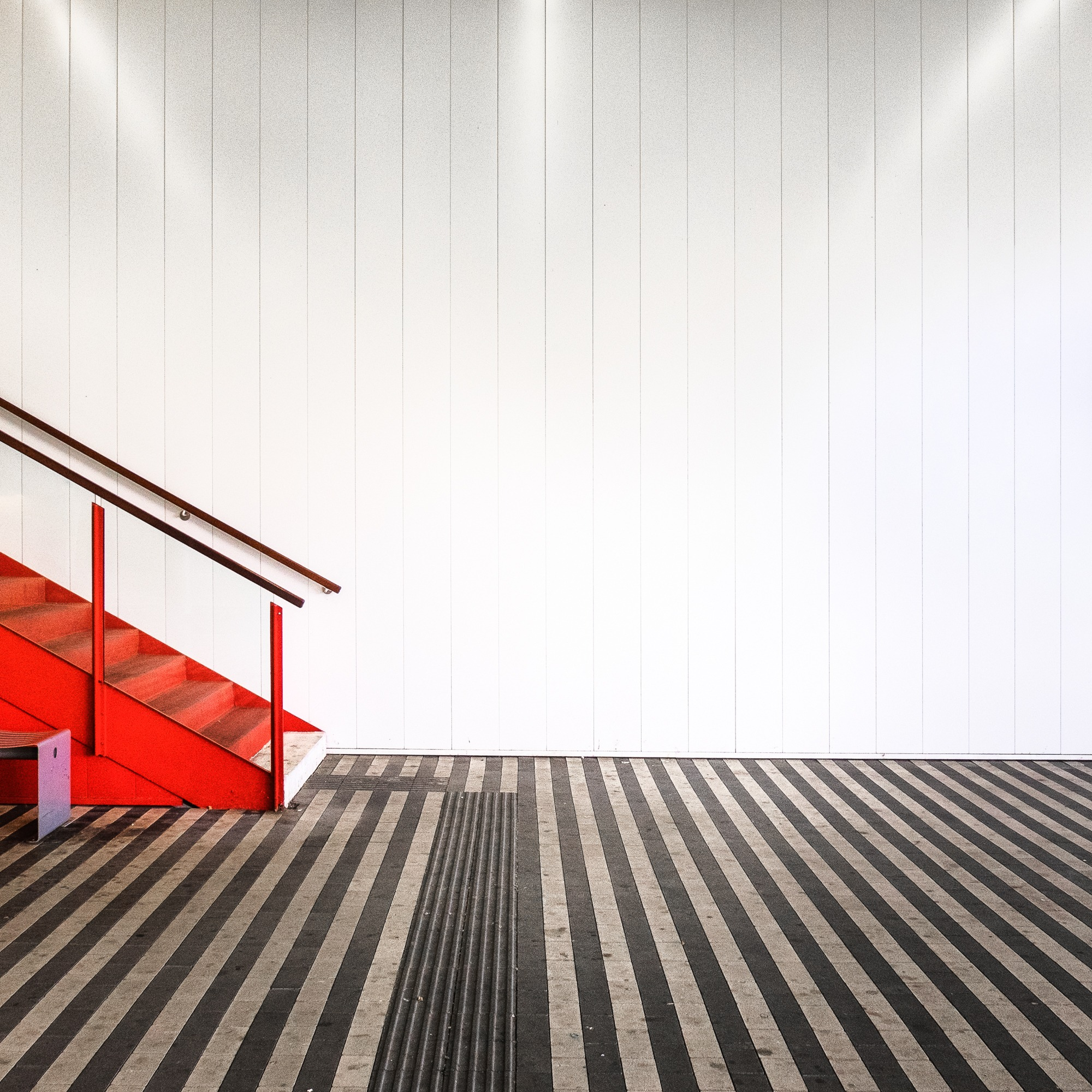 Little Red Staircase