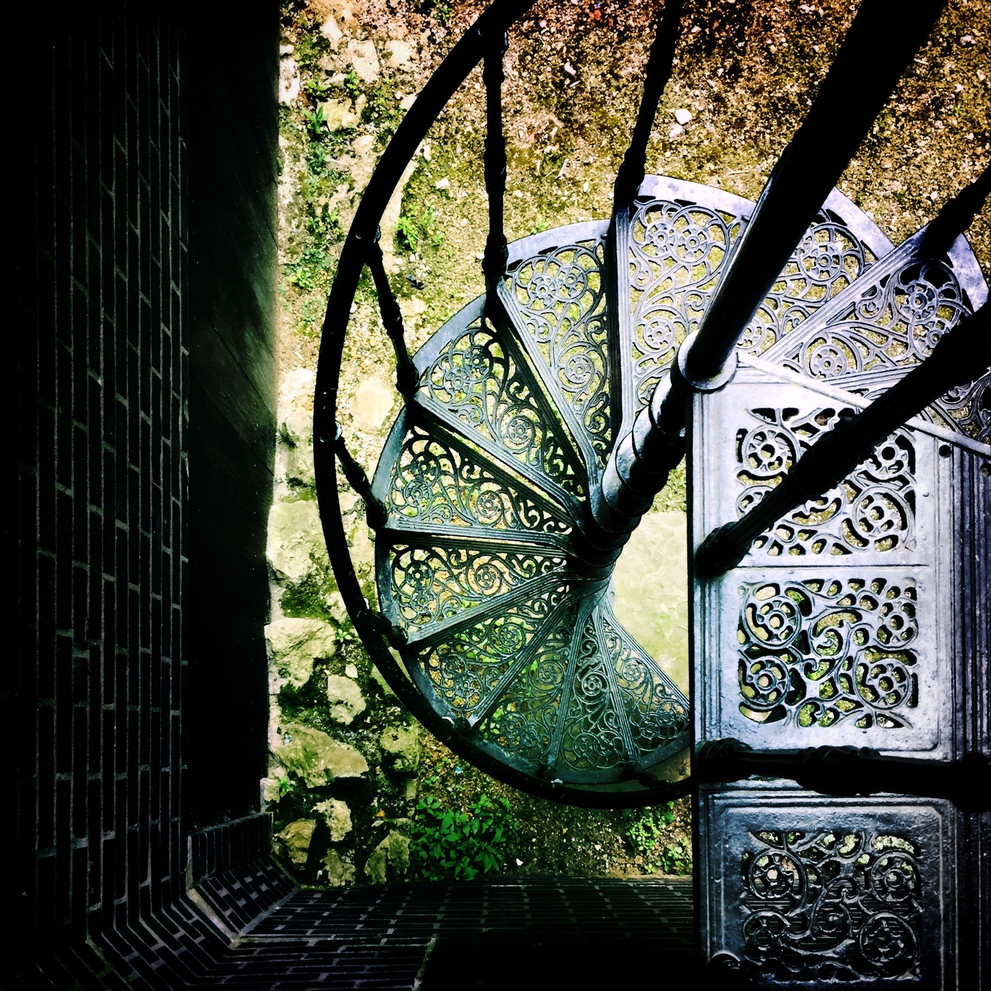 Up a Spiral Staircase