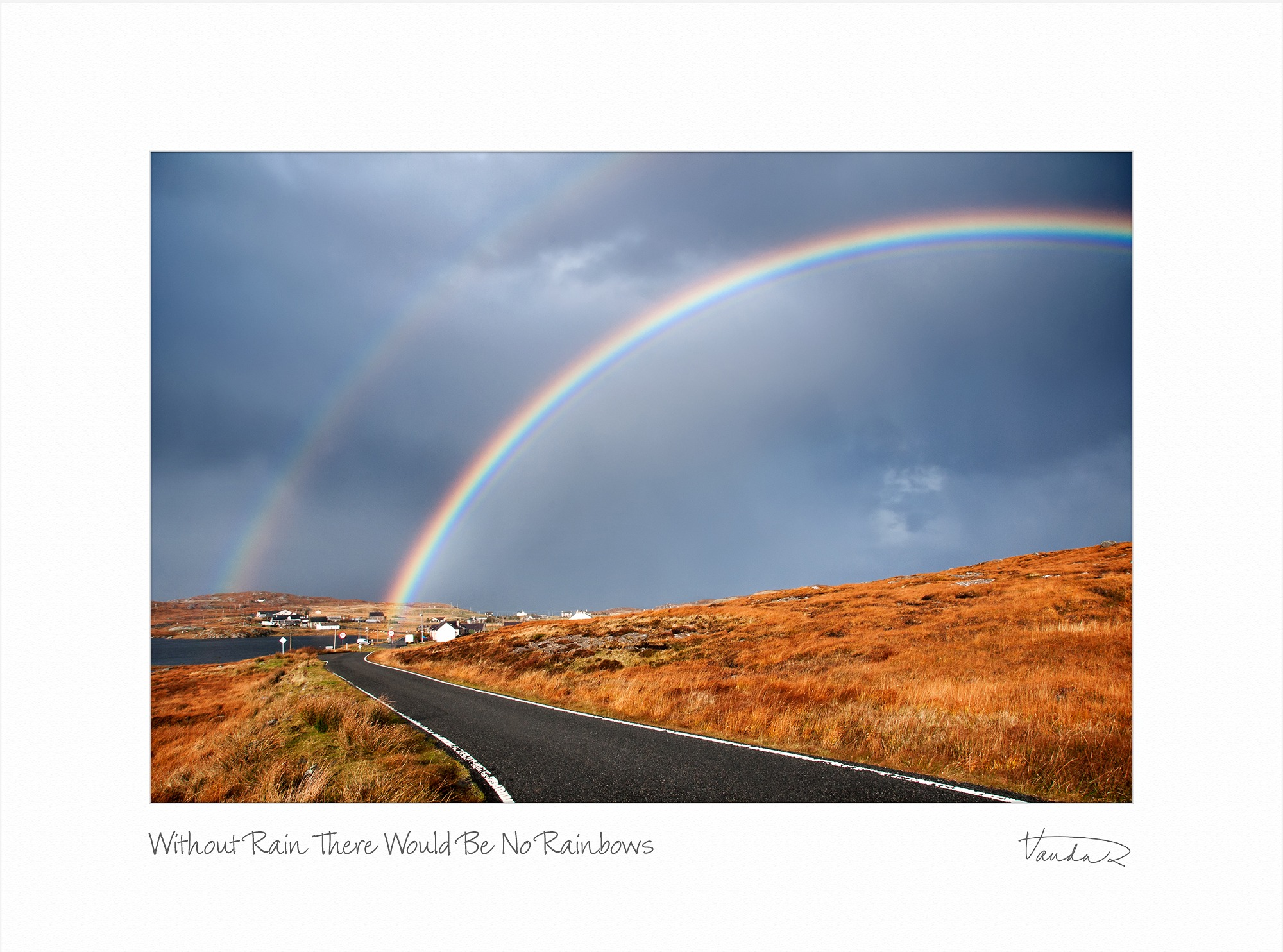 Without Rain There Would Be No Rainbows
