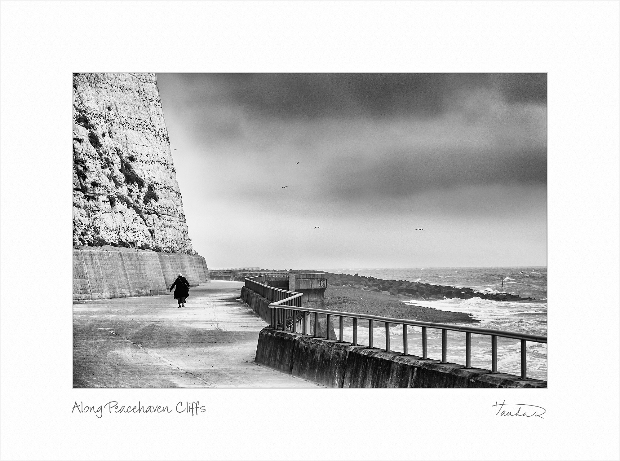 Along Peacehaven Cliffs