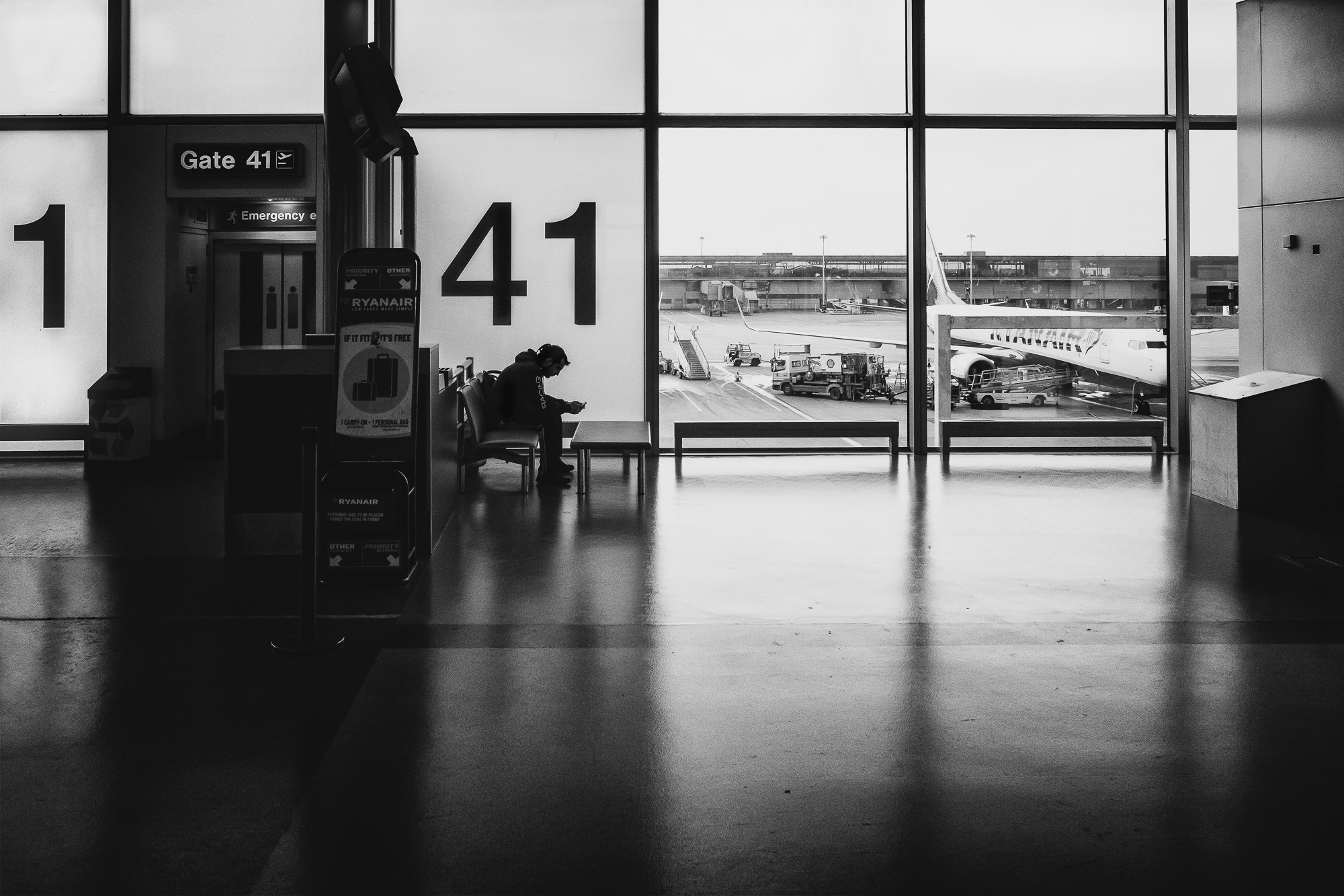 At Gate 41
